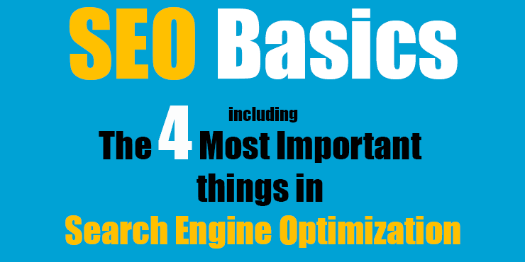 seo basics including the most important things in search engine optimization