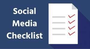 social-media-checklist